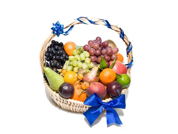 Корзина с фруктами своими руками